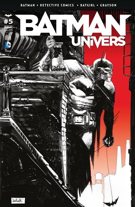 Batman Univers T5, comics chez Urban Comics de Fletcher, Stewart, Tynion IV, Tomasi, Seeley, King, Antonio, Bengal, Martinez, Fernandez, Takara, Sotomayor, McCaig, Lapointe, Cox, Murphy
