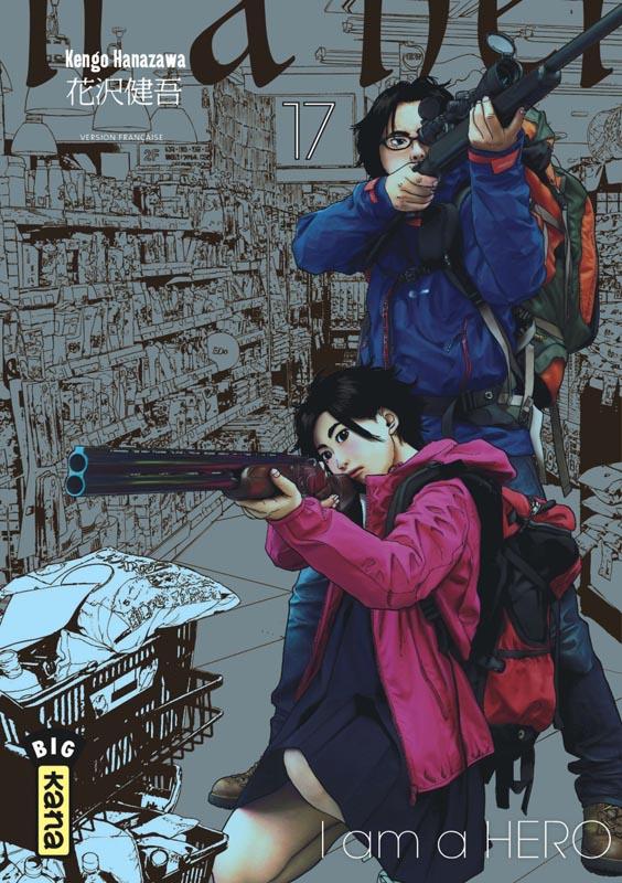 I am a hero T17, manga chez Kana de Hanazawa