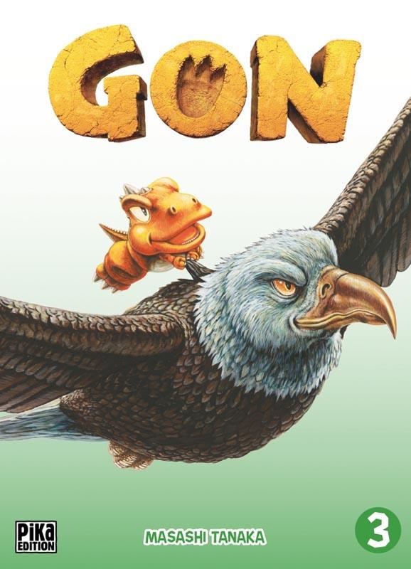 Gon T3, manga chez Pika de Tanaka