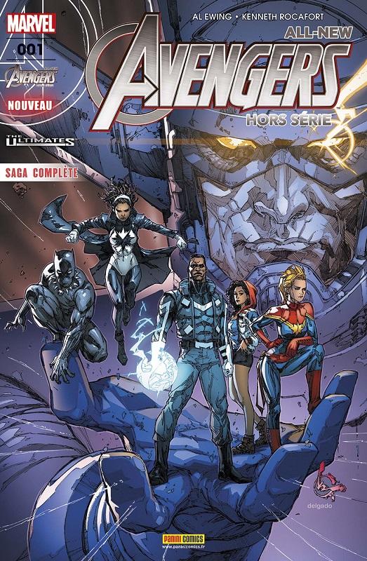 All-New Avengers - Hors Série T1 : The Ultimates - À la frontière de l'impossible (0), comics chez Panini Comics de Ewing, Rocafort, Brown
