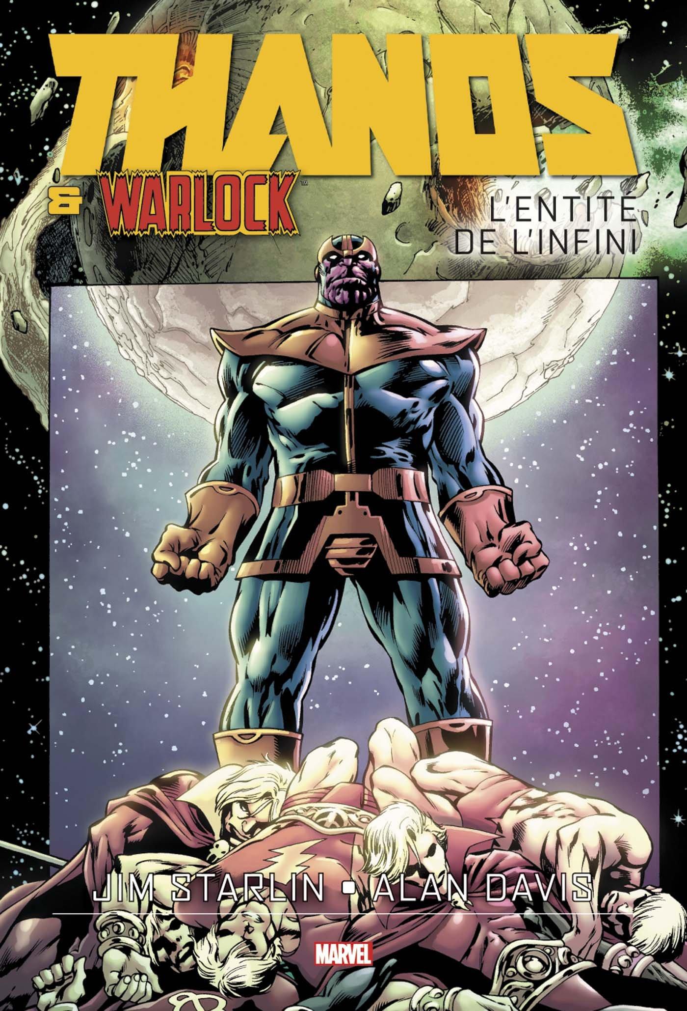 Thanos & Warlock : L'entité de l'Infini (0), comics chez Panini Comics de Starlin, Davis, Boyd, Quintana