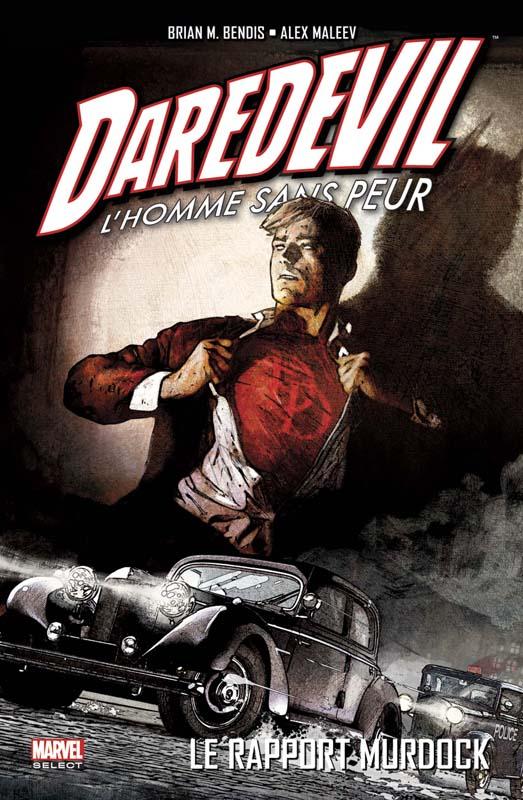 Daredevil - par Brian Michael Bendis T4 : Le rapport Murdock (0), comics chez Panini Comics de Bendis, Maleev, Stewart