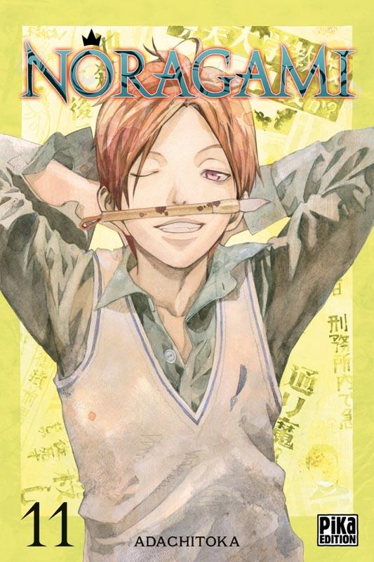 Noragami T11, manga chez Pika de Adachi