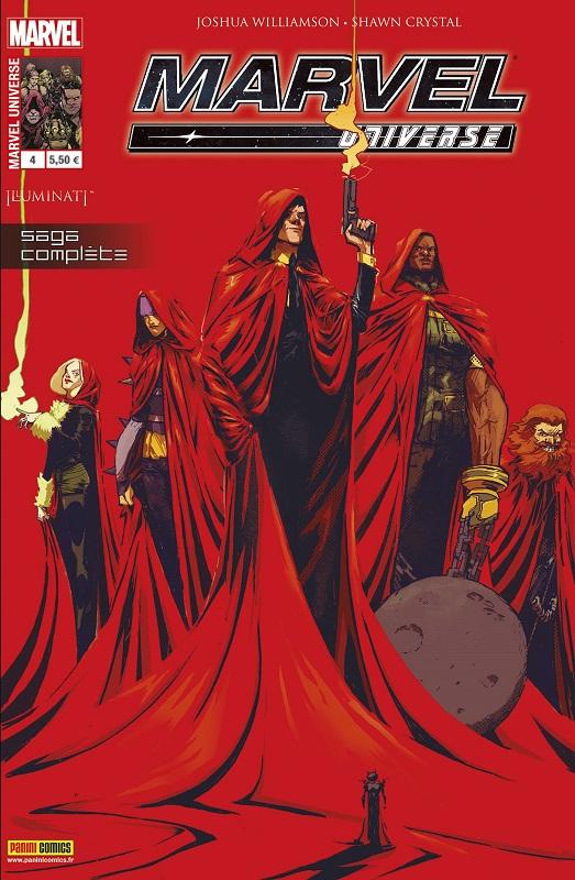 Marvel Universe T2 : Illuminati - Une vie de crimes (0), comics chez Panini Comics de Williamson, Crystal, Walker, Rauch, Rossmo