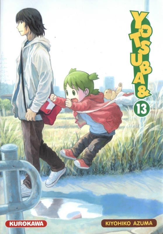 Yotsuba to T13, manga chez Kurokawa de Azuma