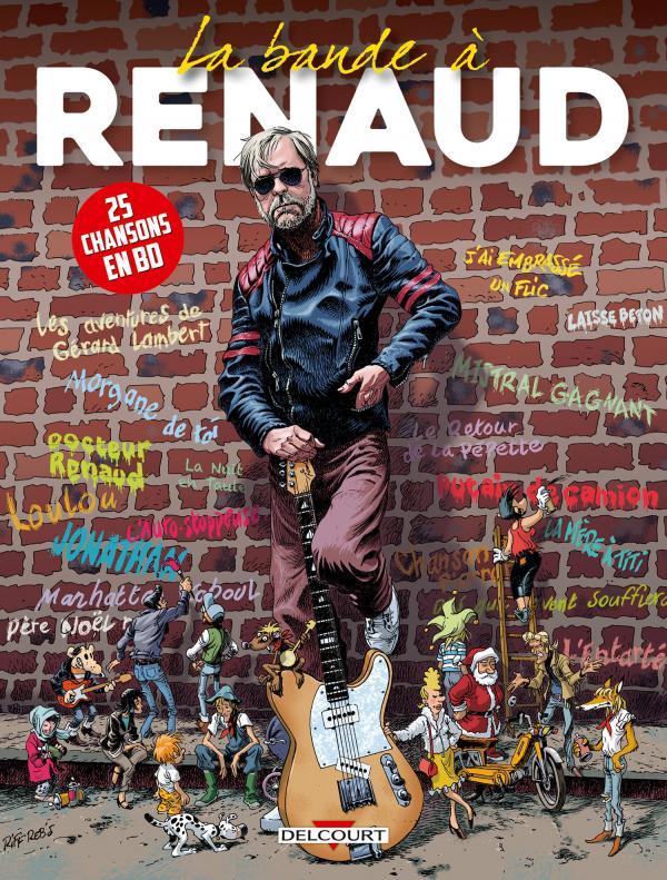 La Bande à Renaud, bd chez Delcourt de Collectif