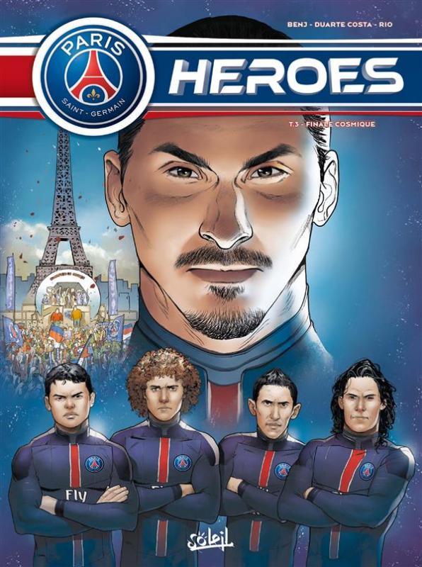 PSG Heroes T3 : Finale Cosmique (0), bd chez Soleil de Ferré, Duarte, Rio