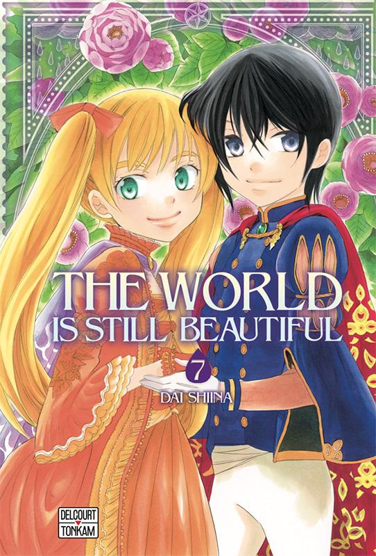 The world is still beautiful T7, manga chez Delcourt de Shiina