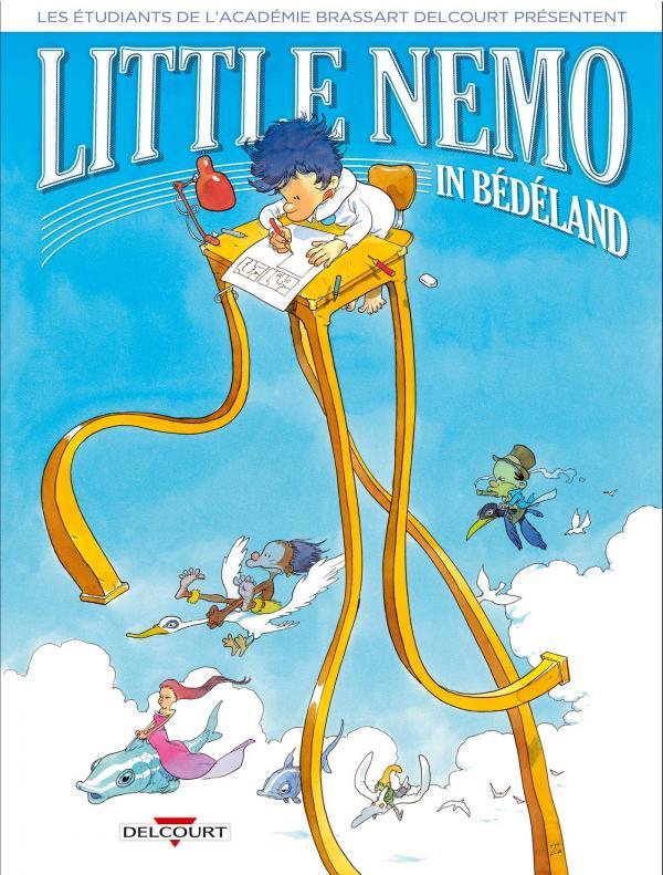 Little Nemo in Bédéland, bd chez Delcourt de Collectif, Zep