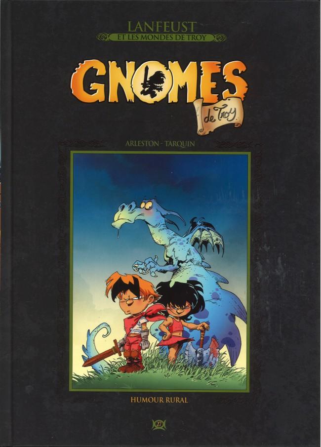Lanfeust et les mondes de Troy T27 : Gnomes de Troy - Humour rural (0), bd chez Hachette de Arleston, Tarquin, Tarquin