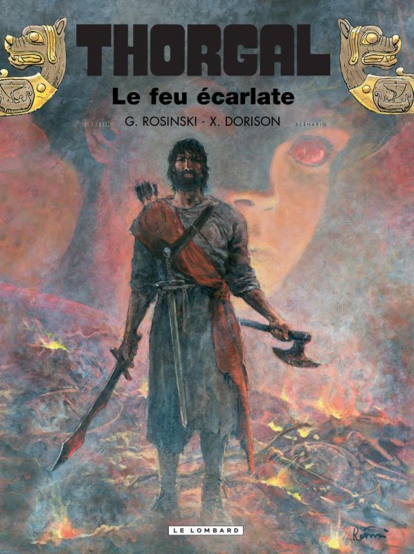 Thorgal T35 : Le feu écarlate (0), bd chez Le Lombard de Dorison, Rosinski
