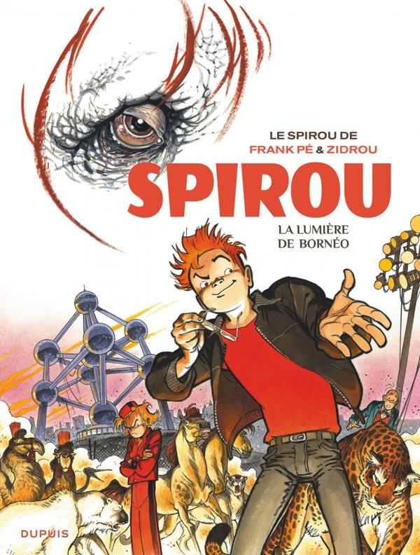 Le Spirou de... T10 : La lumière de Bornéo (0), bd chez Dupuis de Zidrou, Frank, Cerise