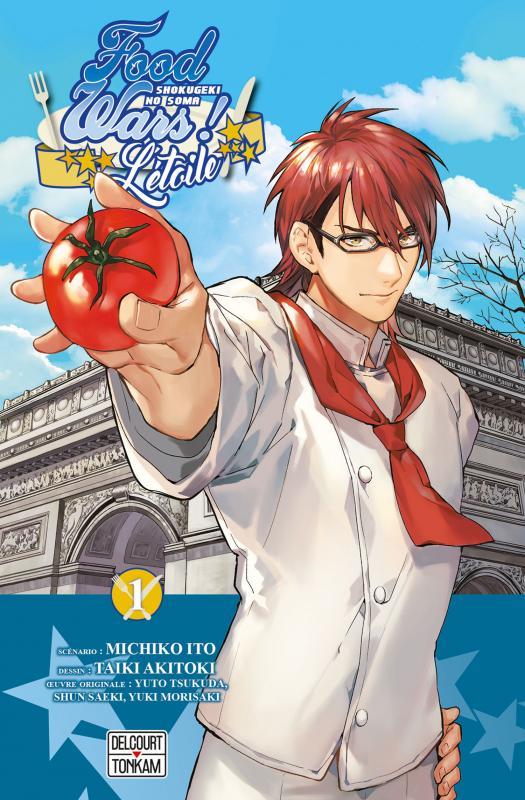 Food wars - L'étoile T1, manga chez Tonkam de Itô, Tsukuda, Akitoki, Sakuma