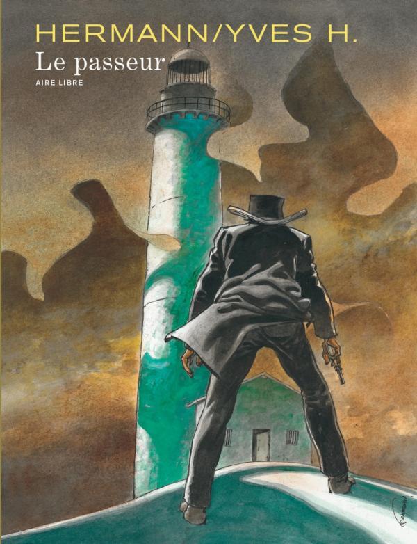 Le Passeur, bd chez Dupuis de H., Hermann