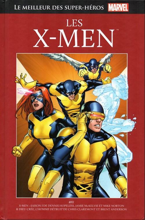Marvel Comics : le meilleur des super-héros T8 : Les X-Men (0), comics chez Hachette de Claremont, Hopeless, Anderson, McKelvie, Norton, Wilson, Oliff, Tedesco