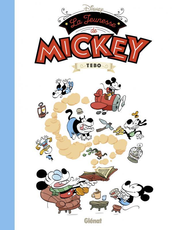 La Jeunesse de Mickey, bd chez Glénat de Tébo