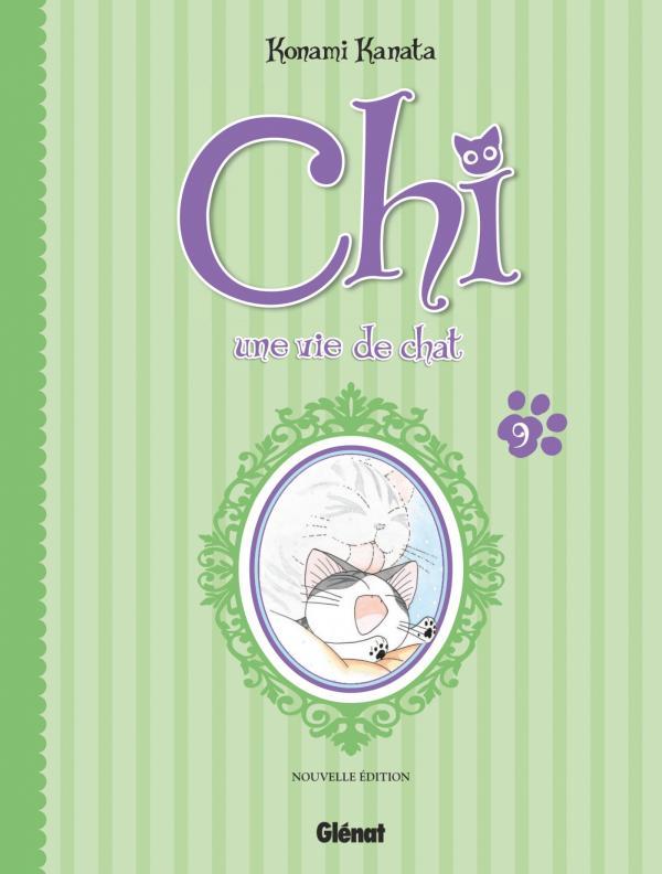 Chi - une vie de chat (format BD) T9, bd chez Glénat de Konami