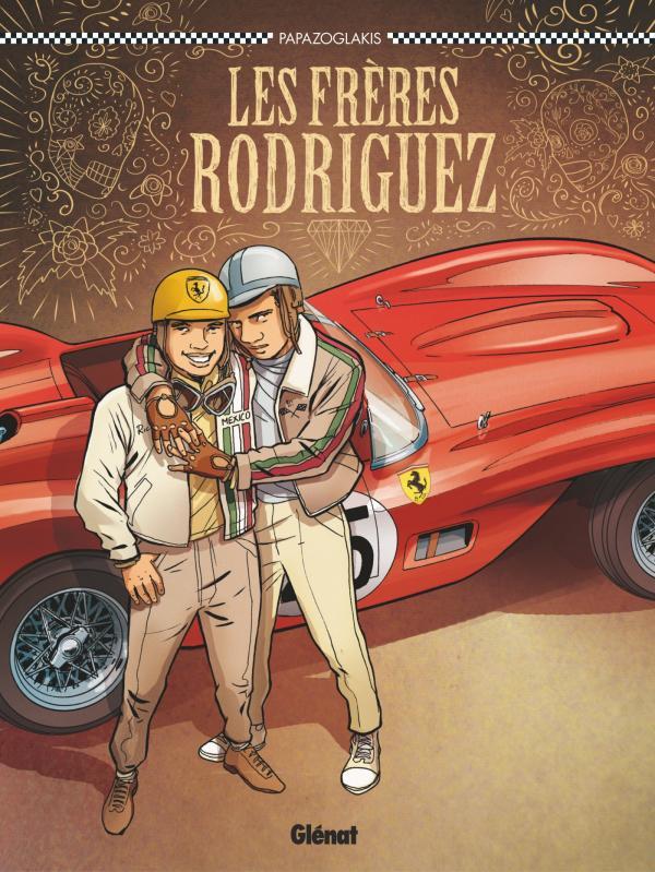 Frères Rodriguez, bd chez Glénat de Papazoglakis, Cinna