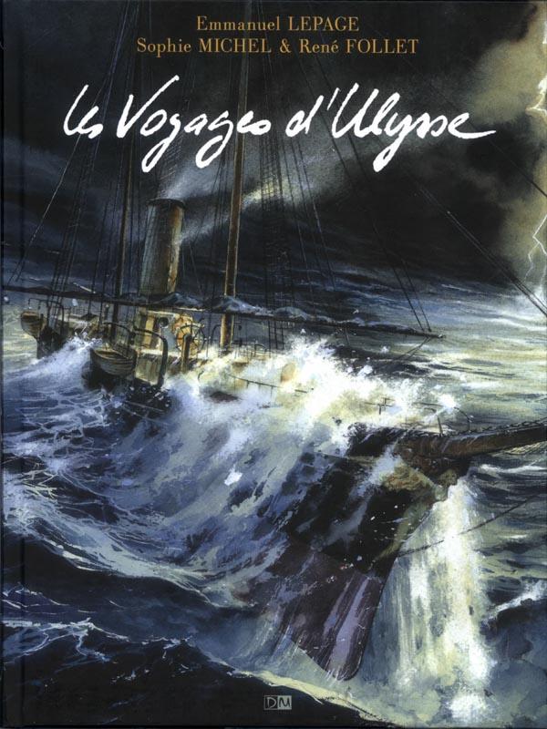 Les Voyages d'Ulysse, bd chez Daniel Maghen de Lepage, Michel, Follet