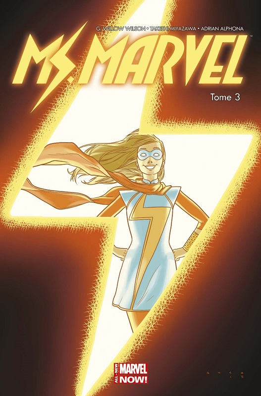 Miss Marvel T3 : Coup de foudre (0), comics chez Panini Comics de Wilson, Miyazawa, Alphona, Bondoc, Kniivila, Herring