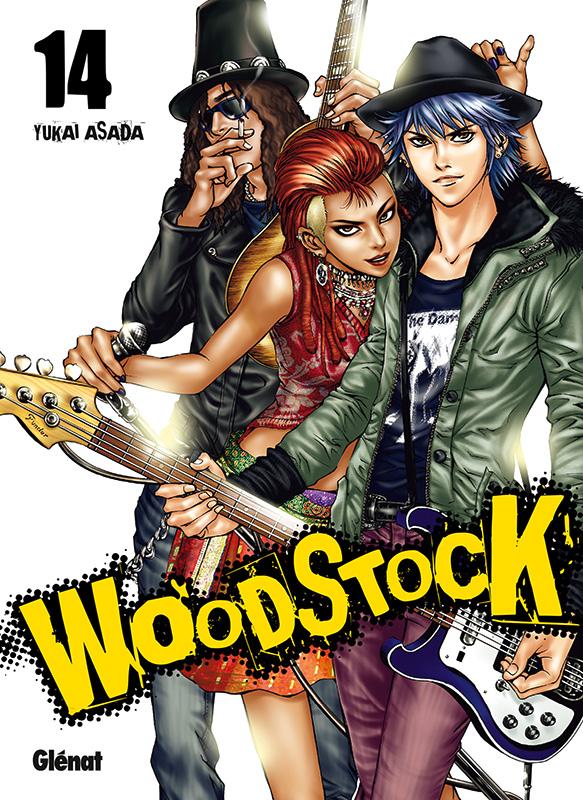 Woodstock T14, manga chez Glénat de Asada