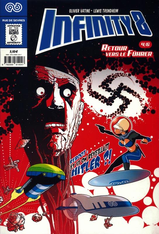Infinity 8 (comics) T4 : Retour vers le Führer (1/3) (0), comics chez Rue de Sèvres de Trondheim, Vatine