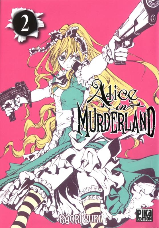 Alice in murderland T2, manga chez Pika de Yuki