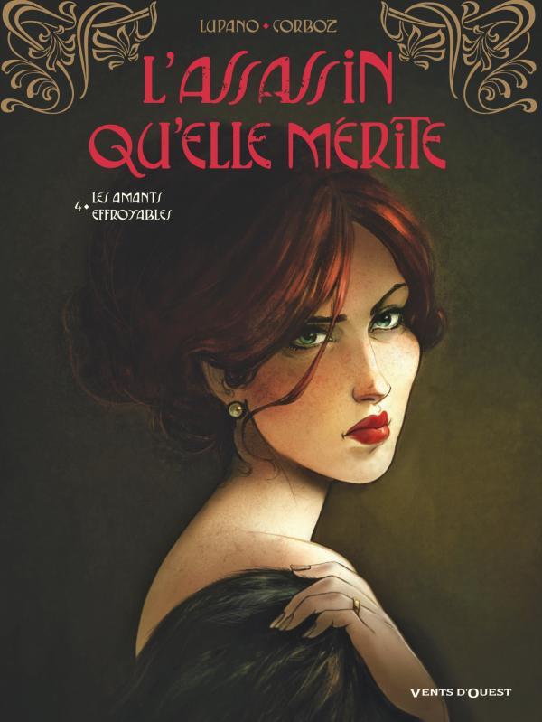 L'assassin qu'elle mérite T4 : Les Amants effroyables (0), bd chez Vents d'Ouest de Lupano, Corboz, Bouët