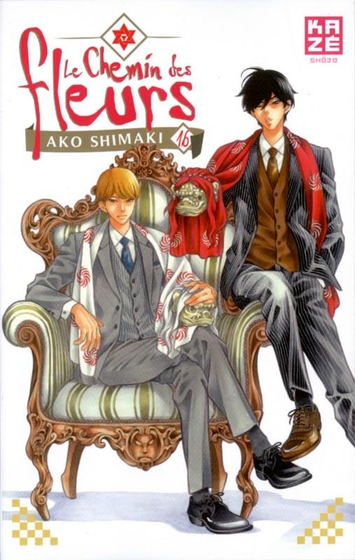 Le Chemin des fleurs T16, manga chez Kazé manga de Shimaki