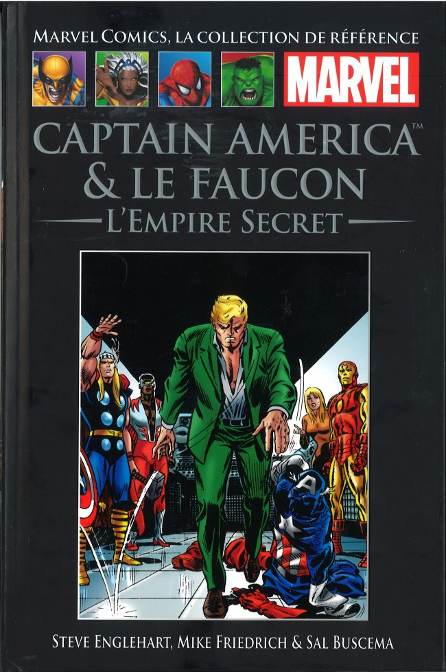 Marvel Comics, la collection de référence – Classic, T28 : Captain America & Le Faucon - L'Empire Secret (0), comics chez Hachette de Friedrich, Englehart, Buscema, Goldberg, Lessman, Brand, Roussos