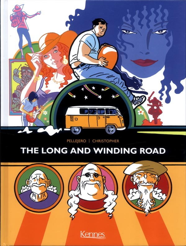 The Long and Winding Road, bd chez Kennes éditions de Christopher, Pellejero, Rene