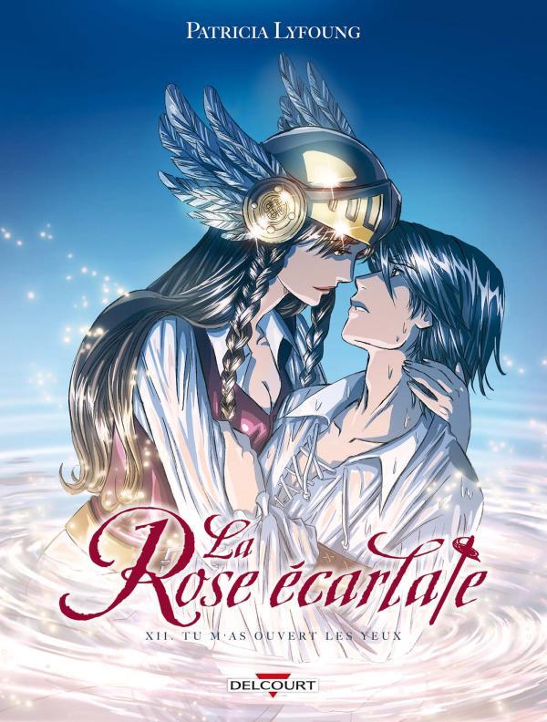 La rose écarlate – cycle 2, T12 : Tu m'as ouvert les yeux (0), bd chez Delcourt de Lyfoung, Lyfoung, Ogaki, Fleur