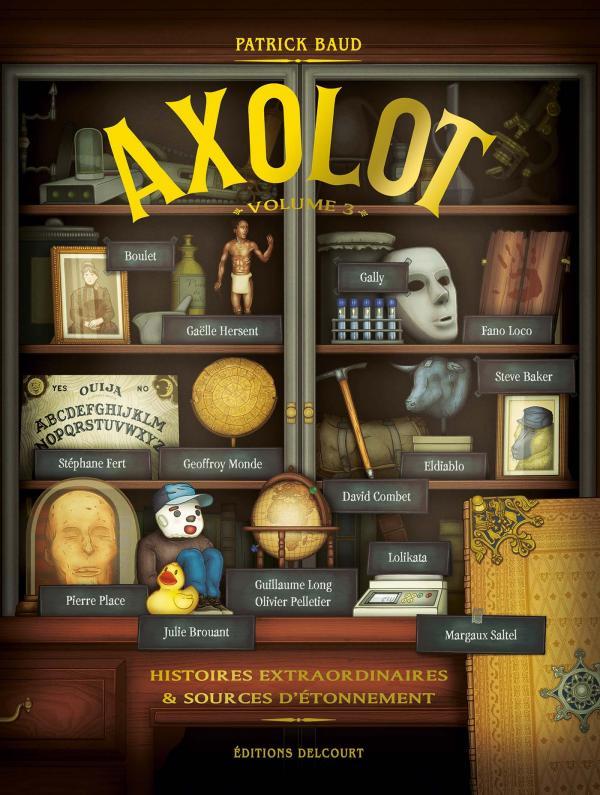 Axolot T3, bd chez Delcourt de Baud, Collectif