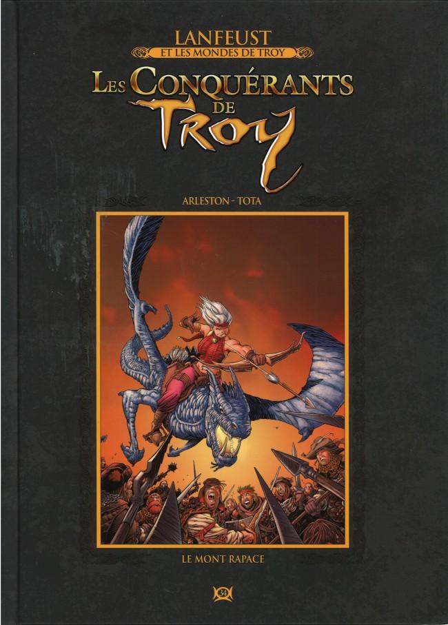 Lanfeust et les mondes de Troy T34 : Les Conquérants de Troy - Le Mont Rapace (0), bd chez Hachette de Arleston, Tota, Lamirand