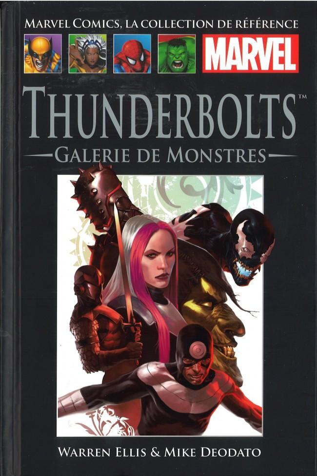 Marvel Comics, la collection de référence T65 : Thunderbolts - Galerie de monstres (0), comics chez Hachette de Guggenheim, Ellis, Deodato Jr, Yu, McCaig, Beredo