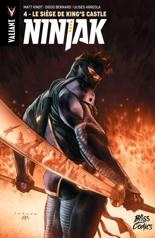 Ninjak T4 : Le siège de King's Castle (0), comics chez Bliss Comics de Kindt, Rodrigues, Bernard, Pantazis, Arreola, Larosa