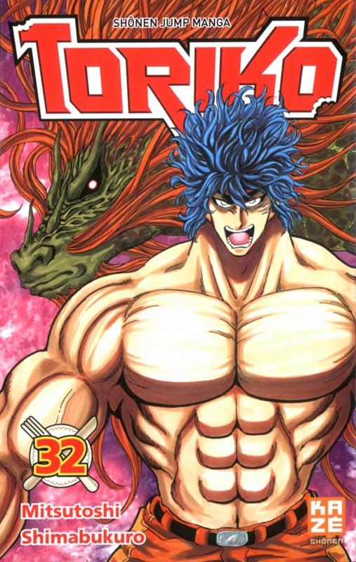 Toriko T32, manga chez Kazé manga de Shimabukuro