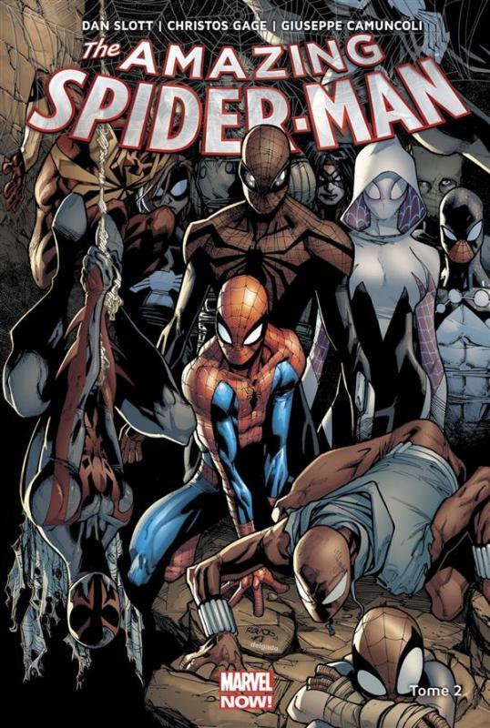 The Amazing Spider-Man T2 : Prélude à Spider-Verse (0), comics chez Panini Comics de Slott, Gage, Ramos, Camuncoli, Sepulveda, Kubert, Delgado, Beredo, Isanove, Fabela