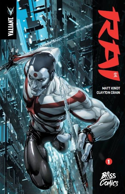 Rai T1, comics chez Bliss Comics de Kindt, Crain