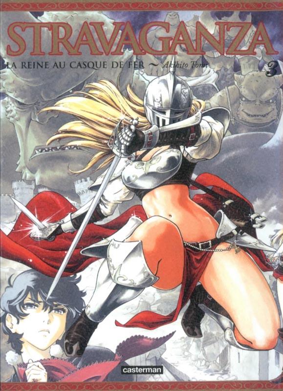 Stravaganza - La reine au casque de fer T3, manga chez Casterman de Tomi