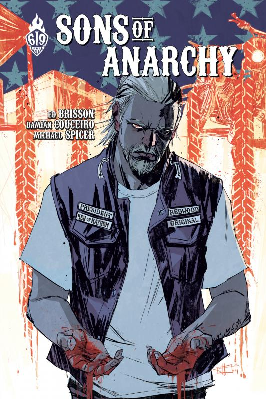 Sons of anarchy T3, comics chez Ankama de Brisson, Couceiro, Spicer, Infante