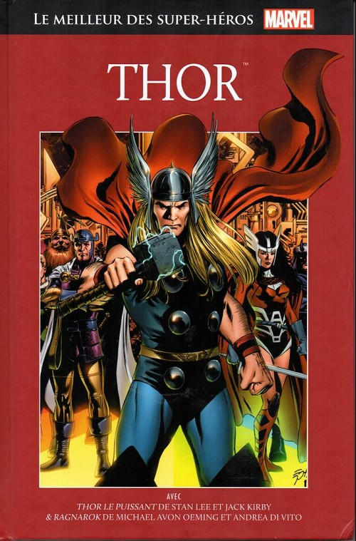 Marvel Comics : le meilleur des super-héros T9 : Thor (0), comics chez Hachette de Lee, Oeming, Berman, Kirby, Di Vito, Epting