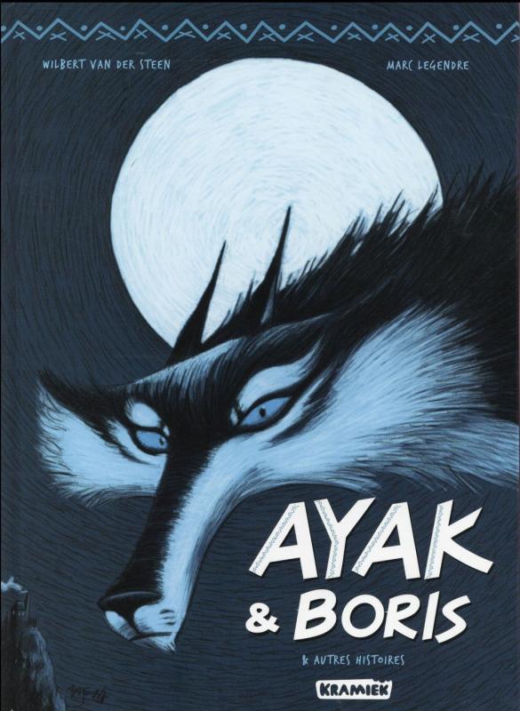 Ayak & Boris, bd chez Kramiek de Legendre, Van Der Steen