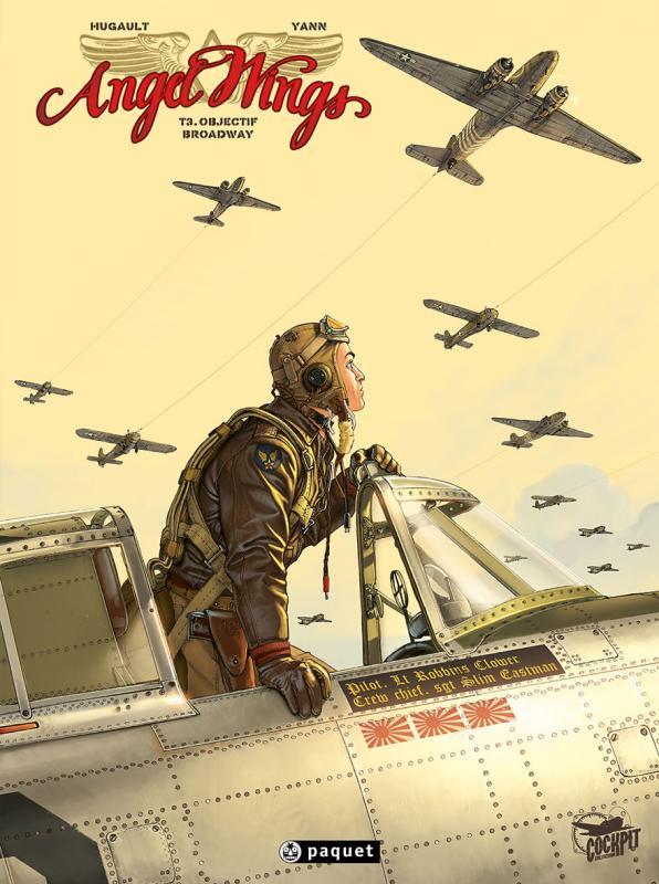 Angel Wings – cycle 1 : Burma, T3 : Objectif Broadway (0), bd chez Paquet de Yann, Hugault