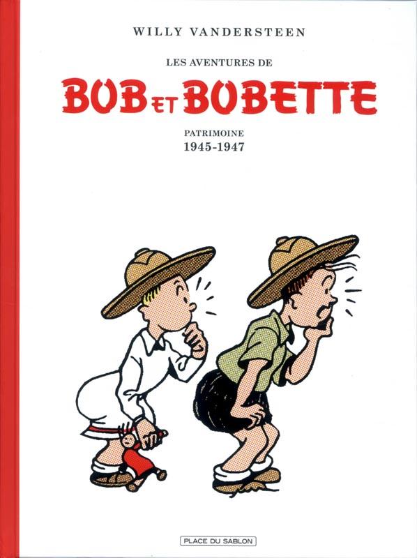 Bob et Bobette T1 : Patrimoine 1945-1947 (0), bd chez Place du sablon de Vandersteen