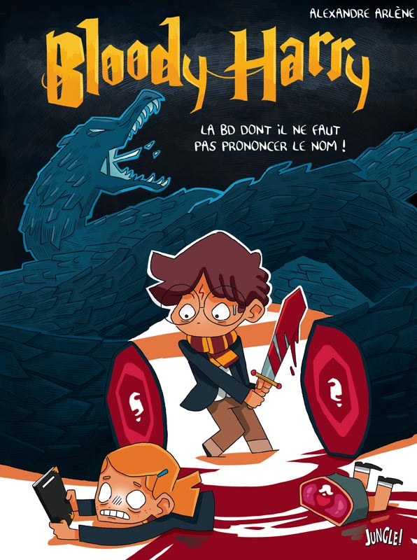 Bloody Harry T1, bd chez Jungle de Arlène