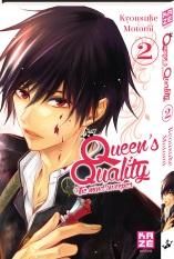 Queen's quality T2, manga chez Kazé manga de Motomi