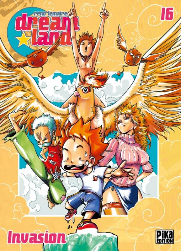 Dreamland  T16, manga chez Pika de Lemaire