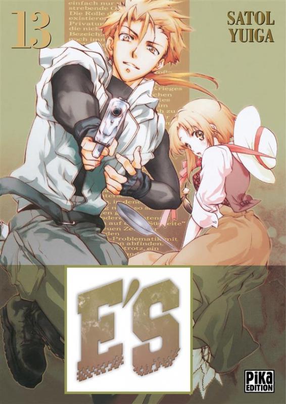 E'S T13, manga chez Pika de Yuiga