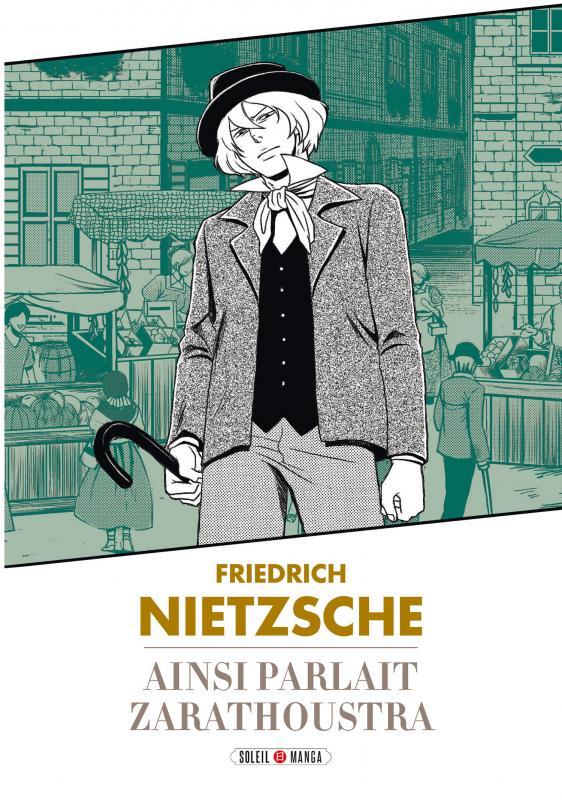 Ainsi parlait Zarathoustra, manga chez Soleil de Nietzsche, Variety artworks studio